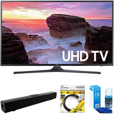 43` 4K Ultra HD Smart LED TV 2017 Model + Soundbar Bundles