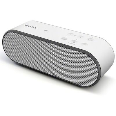 SRS-X2/WHT Ultra Portable Bluetooth Speaker (White)
