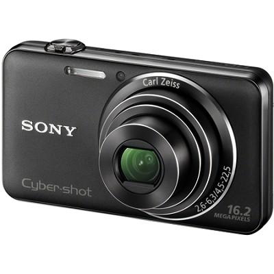 DSC-WX50/B - 16.2MP CMOS Sensor Digital Camera 5X Optical Zoom 2.7` LCD (Black)