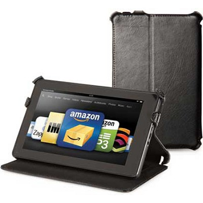 C.E.O. Hybrid Folio Case for Kindle Fire (Black)