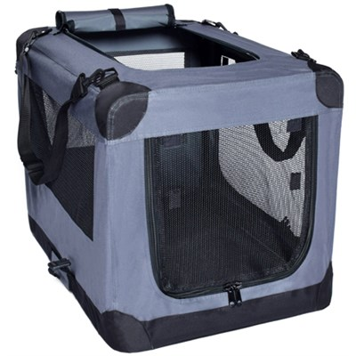 Dog Soft Crate Kennel for Pet Indoor Home & Outdoor Use OPEN BOX
