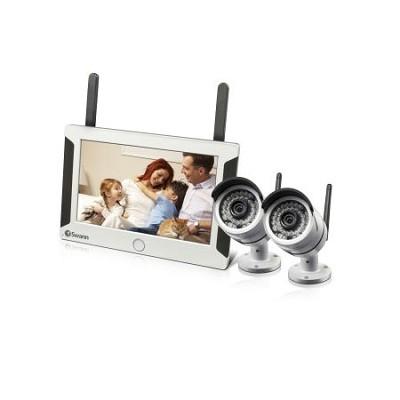 7` Wireless NVR with 2x 720p Camera