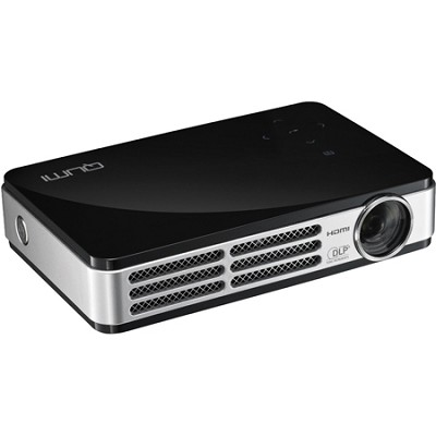 Qumi Q5 500 Lumen WXGA HD 720p 3D-Ready Pocket DLP Projector (Black) Refurbished