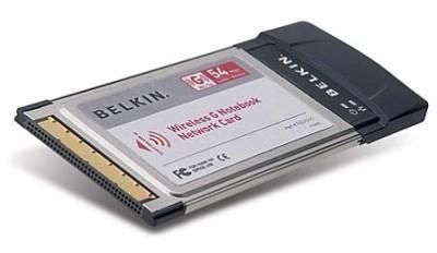 802.11g Wireless Notebook Adapter Card