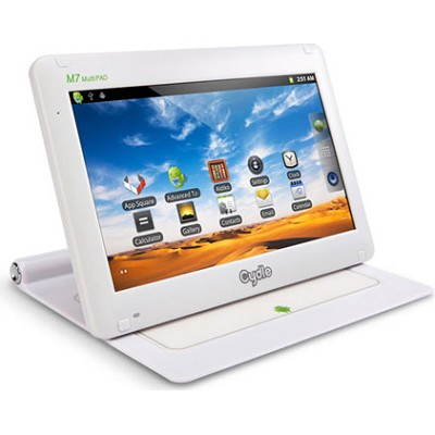 M7 White 7-inch Touch Screen MultiPad Tablet w/ Android Operating System