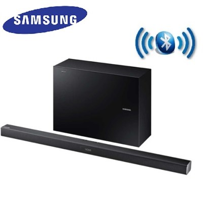 HW-J550 - 2.1 Channel 320 Watt Home Theater Sound Bar with Wireless Subwoofer