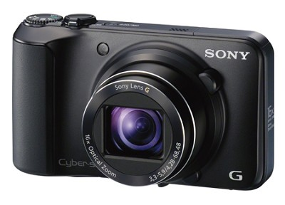 Cyber-shot DSC-H90 16.1 MP 16x Optical Zoom HD Video Superzoom(Black) - OPEN BOX