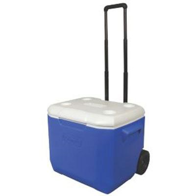 60-Quart Personal Wheeled Cooler in Blue - 3000001838