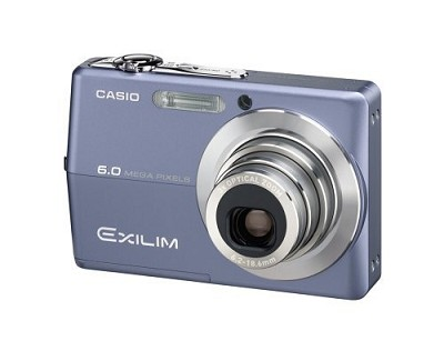 Exilim EX-Z600 Blue 6MP Digital Camera