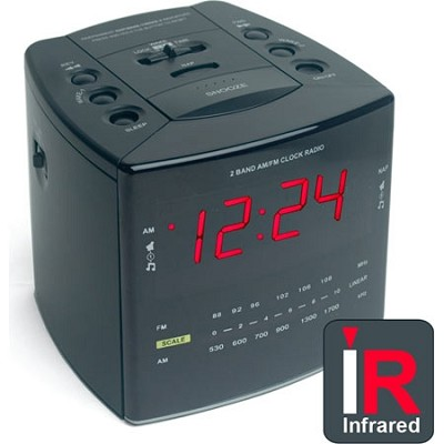 SleuthGear NightOwl IR Clock Radio Camera - OPEN BOX