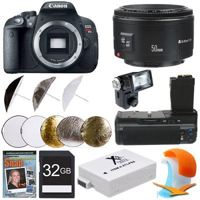 EOS Rebel T5i SLR Digital Camera Portrait Photographer Bundle