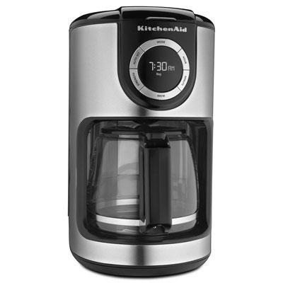 12-Cup Glass Carafe Coffee Maker in Onyx Black - KCM1202OB