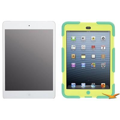iPad Mini (64GB, Verizon 4G, White) Griffin Green/Yellow Survivor Case Bundle