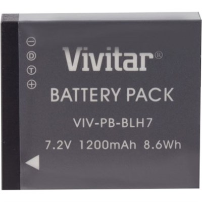 Replacement Battery Pack for Panasonic DMW-BLH7 Battery