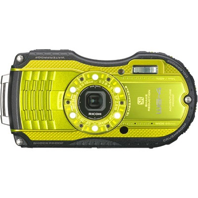 WG-4 16MP HD 1080p Waterproof Digital Camera - Lime Yellow - OPEN BOX