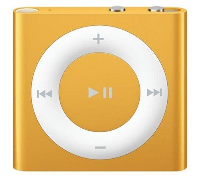 2GB iPod Shuffle 4th Generation Orange