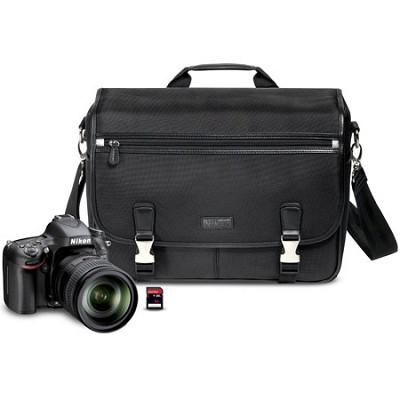 D600 24.3 MP CMOS FX-Format Digital SLR Camera With Nikon 28-300mm VR Gift pack