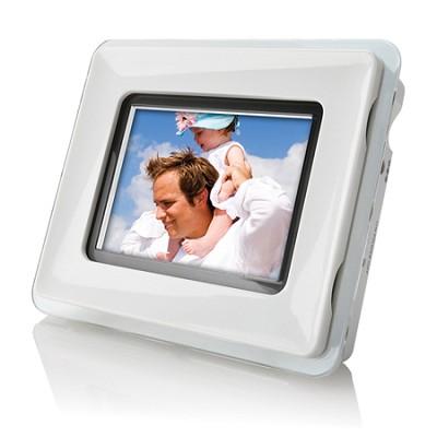 3.5 ` (4:3) Digital Photo Frame (Acrylic Frames - BLK, WHT)
