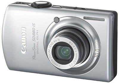 Powershot SD880 Silver Refurbished