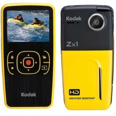 Zx1 Pocket Video Camera (Yellow)