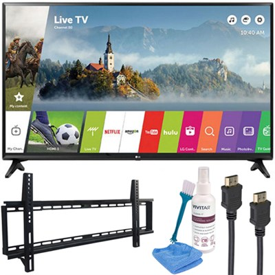 49` Class Full HD 1080p Smart LED TV 2017 Model with Wall Mount Kit