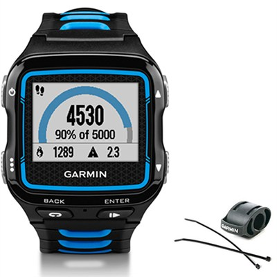 Forerunner 920XT Multisport GPS Watch - Black/Blue + Bike Mount Kit