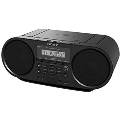 ZS-RS60BT CD Boombox with Bluetooth, 4-Watt - OPEN BOX