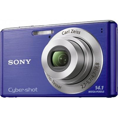Cyber-shot DSC-W530 Blue Digital Camera  ** OPEN BOX **
