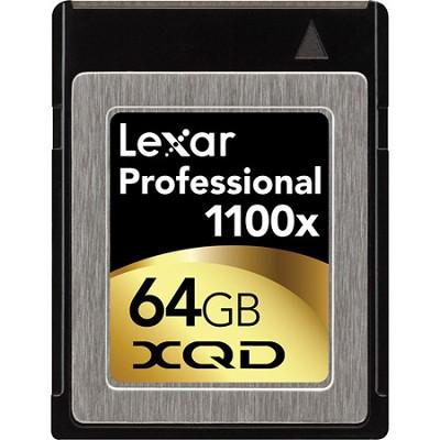 64 GB Professional 1100x XQD Card - LXQD64GCTBNA1100