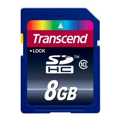 8 GB Secure Digital High-Capacity (SDHC) Class 10 {TS8GSDHC10 }