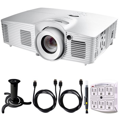 Ultra Home Cinema Projector w/ DarbeeVision Technology + Accessories Bundle