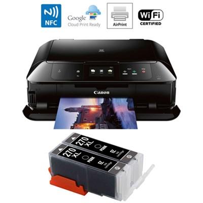 MG7720 Printer Scanner & Copier w/ Airprint & Cloud Print Black w/Ink Cart
