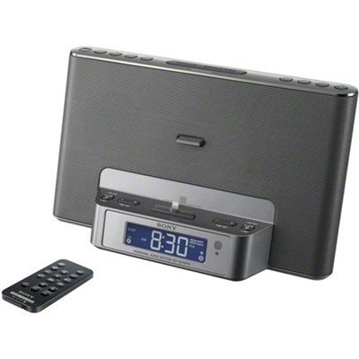 ICFCS15iPSILN Speaker Dock for iPod and iPhone (Silver) - OPEN BOX