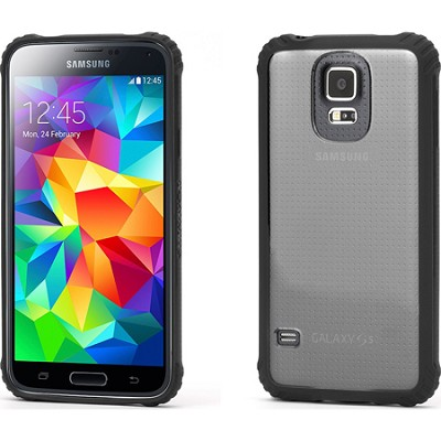 Survivor Clear Protective Case with Black Trim for Samsung Galaxy S5