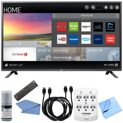 42LF5800 - 42-Inch Full HD 1080p 60Hz Smart LED HDTV Hook-Up Bundle