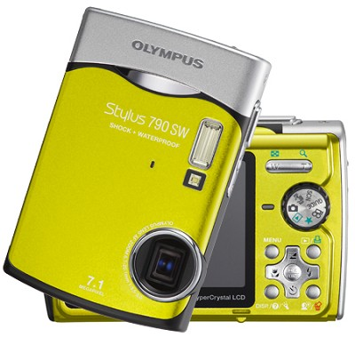 Stylus 790 WS Digital Camera (Green)