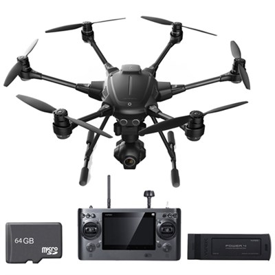 Typhoon H RTF Hexacopter Drone w/ CGO3+ 4K Camera with Extra Battery & 64gb Card