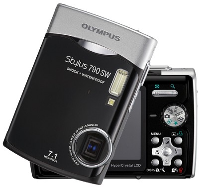 Stylus 790 SW Digital Camera (Black)