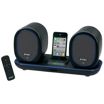 JiSS-600i Docking Digital Music System w/ Wireless Speakers for iPod and iPhone