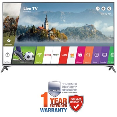60` Super UHD 4K LED TV 2017 Model w/ Additional 1 Year Extended Warranty