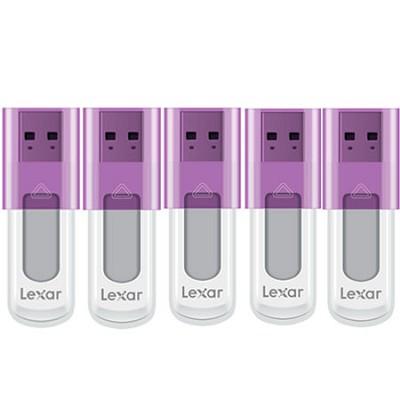 16 GB JumpDrive High Speed USB Flash Drive (Purple) 5-Pack (80 GB Total)
