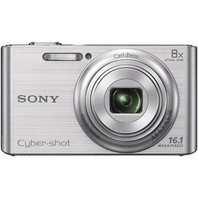 DSCW730 16 MP 2.7-Inch LCD Digital Camera - Silver