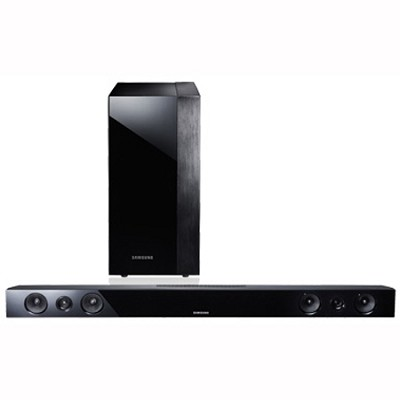 HW-F450 - 2.1-channel Home Theater Sound Bar with Wireless Subwoofer - OPEN BOX
