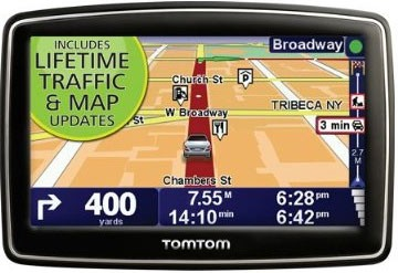 TomTom XL 340TM 4.3` Portable GPS Navigator Lifetime Traffic & Map updates