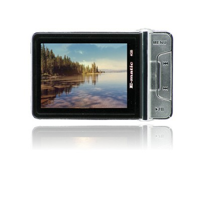 2.4` Color MP3 Video Player 4GB W/Built-in 5MP Digital Camera - Black