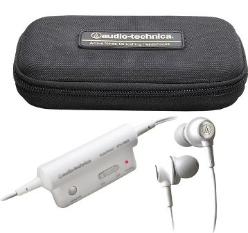 ATH-ANC3 QuietPoint Active Noise Canceling Headphones TOP RATED