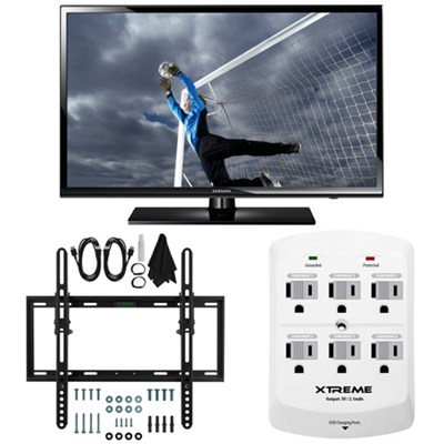 UN40H5003 - 40-Inch Full 1080p HD 60Hz LED TV Flat & Tilt Wall Mount Bundle