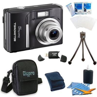 Z10T ZoomTouch 10 MP Black Digital Camera Bundle
