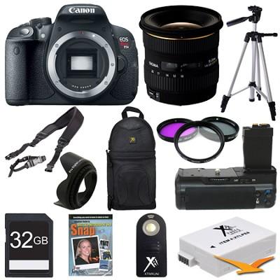 EOS Rebel T5i SLR Digital Camera Landscape Photographer Bundle