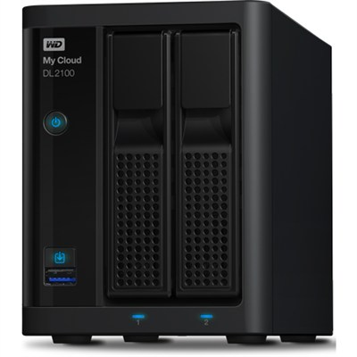My Cloud Business Series DL2100 2-Bay Pre-configured NAS Hard D - 8TB - OPEN BOX
